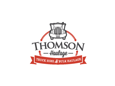 Thomson Haulage Logo Design