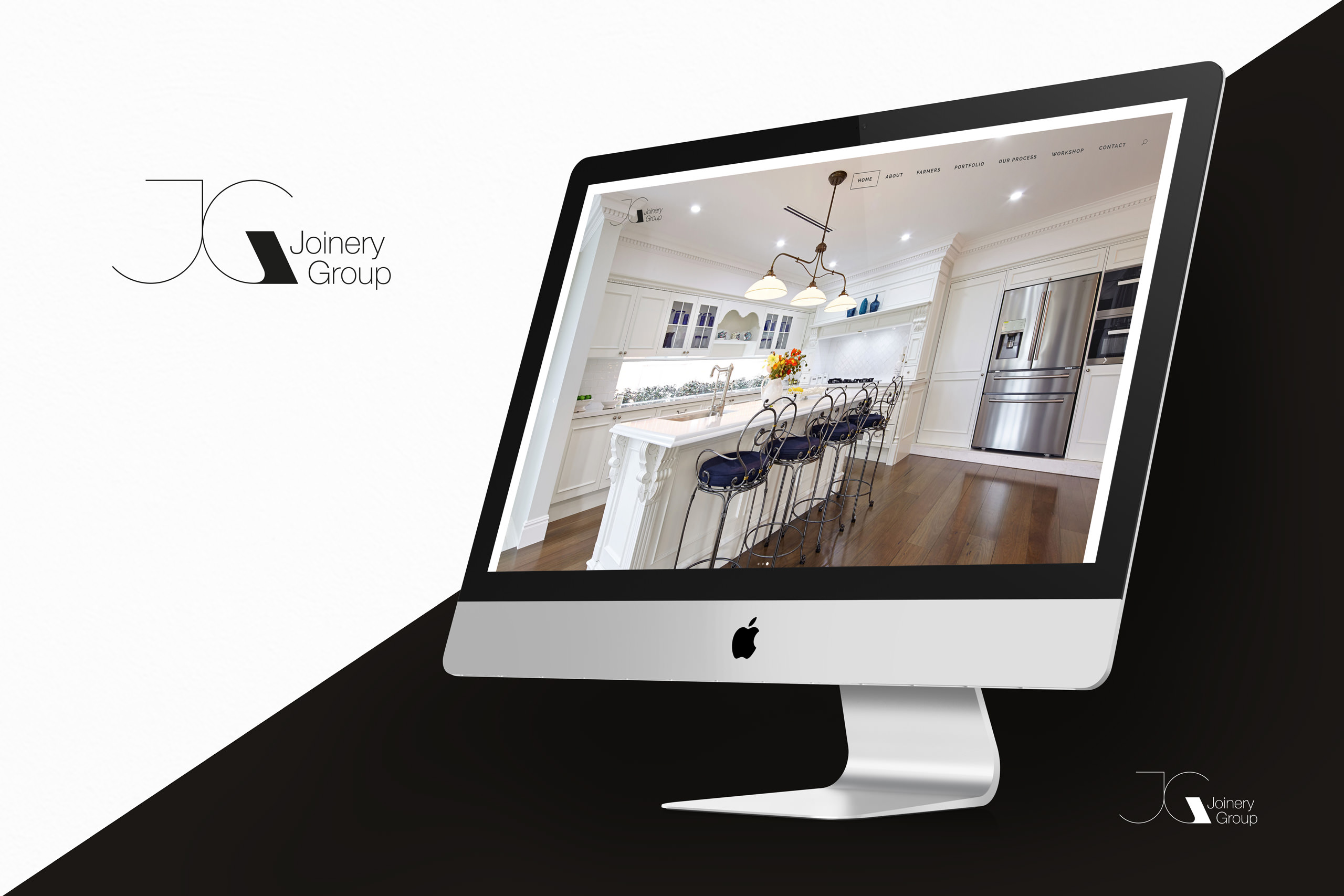 Joinery Group Website Design