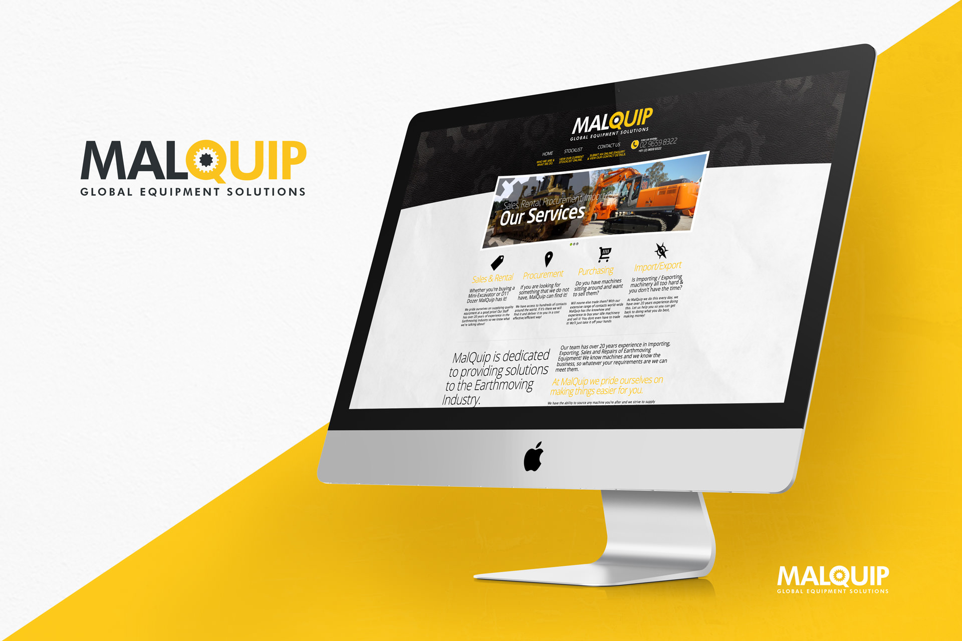 Malquip Website Design